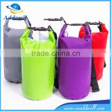 Watersport collapsible tarpaulin blue red yellow green orange feel free dry bag