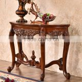 Malaysia style plain and simple dressing table designs in brown