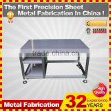 kindle 2014 new professional customized galvanized folding metal rocking chair