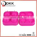 DKK-B002 cute colorful ice cube tray , the best silicone ice cube tray to make own ice cream