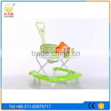 New model 360 degree rotating baby walker seat