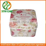 oily skin fomula beauty soap tin box /facial soap packing