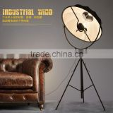 hot sell sailing searchlight paper lamp shades for modern tripod wooden floor lamp F4043