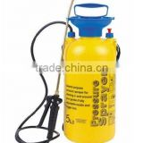 yellow 8 L sprayer/pressure pump trigger plastic 8L sprayer/garden sprayer-agriculture sprayer
