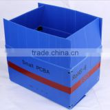Foldable antistatic corrugated plastic box,ESD Antistatic plastic corrugated box suitable for electronic industrial