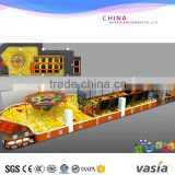 Hot Sale top quality kids candy theme indoor soft play equipment with ball pool