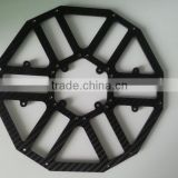 Customized CNC Cutting 3K Twill matte fibra di carbonio Carbon Fiber Frame, Carbon Fiber sheet, Carbon Fiber Tube