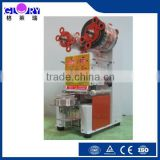 High quality Automatic induction plastic heat cup sealing machine/automatic sealing machine