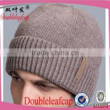 Wholesale bulk embroidery design your own custom beanie boo winter knited beanie hat                                                                         Quality Choice