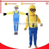 sexy inflatable despicable me child minion mascot costumes rental for kids                                                                         Quality Choice