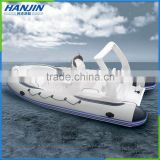 CE PVC Certification High Quality fiberglass hull rib boat RIB580 inflatable fishing boat,bell boat made in china