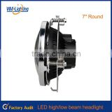 "DOT approved jeep wrangler 4x4 led headlight offroad 7"" round led headlight/jeep led head light"