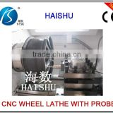 Alloy wheels polishing machine repair automotive aluminum Wheel Rim CNC lathes CK6187W