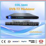 Digital TV headend DVB-T2 Modulator