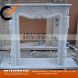 antique home decoration marble Fireplace