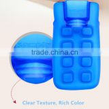 Hot baby PVC warm water bottle 350ml blue safe anti-scald bed warmer