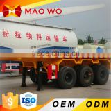 China best price 3 Axle 40ft Container Flatbed Semi Trailer with container twist locks for Sale