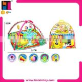 Hot sale forest waterproof baby play mat baby play gym with sides in handbag                                                                         Quality Choice