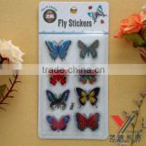 Beautiful 3D butterfly laser sticker decal paper various styles