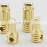 6.5mm Gold plated Bullet banana Plug for RC Battery RC Plane Motor