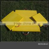 Outrriger Pad For Crane/anti-impact uhmwpe sheet/uv resistant uhmw-pe crane outrigger pad