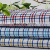 Hot sale cheap price digital printed mercerized fabric combed cotton Stripe Shirts fabric in bulk