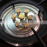 precision lathe metal CNC brass turning parts and Red Copper Brass Metal Stamping Press parts