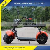 Yabo 2016 new fat tire 1000w 60v 12Ah 80km range electric scooter adult electric motorcycle
