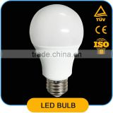 A60 LED Bulb 5W AC85-265V 50/60Hz 5W A19 LED Bulb E26/E27 Lamp Base 430-500lm with CE RoHs Approved LED Bulb Raw Material Offere