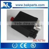 Red Push Button Automatic Air Compressor Pressure Switch Valve Switches Parts