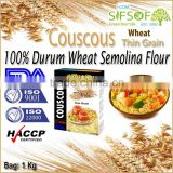 Couscous. 100% Durum Wheat semolina flour. Premium quality Couscous. Couscous Thin Grain Bag 1Kg.