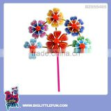 Plastic sand beach windmill toy