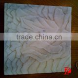 Wall relief abstract marble sculpture