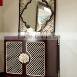 BISINI New Classice Flower Carving Console Cabinet