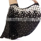 Wholesales Gypsy animal prints belly dancing frill skirt