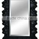 High quality antique design royal hotel PS plastic frame bathroom decor mirror