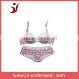 Strawberry design lovely kids underwear japanese mature women sexy lingerie