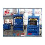 Heavy Duty 63 Ton Vertical Clothes Baler Machine , Stable Running Cardboard Bundler Machine