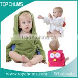 Fashion styles soft bath towels hooded baby towel