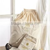 Wholesale Washable Drawsting Hotel Canvas Laundry Bag