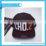 customized Fancy fashion cheap promotional high quality 3d gold letters bolted snapback cap hat