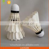Grade B Duck Feather Profession Parts Of Shuttlecock In Badminton For Tournament
