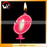 Birthday candle cake decorative beautiful party number candle