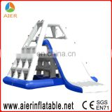 inflatable commercial water park Hot inflatable water jumping slide