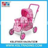 twin doll stroller doll stroller with canop baby stroller