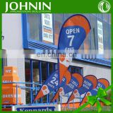 advertisement banners knitted polyester custom hanging outdoor flag