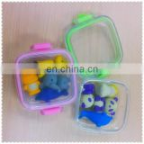Promotional Funny Animal Shape 3D soft Eraser