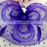 blue party fascinator hats 002
