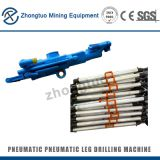 air leg rock drill|Jackills Pneumatic Rock Drills Portable Drill Bit for Coal Mine Tunnels air leg rock drill