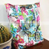 cotton muslin bag with full color printing